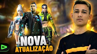 FREE FIRE - AO VIVO 💚  JOGANDO 4x4, CAMP E ETC💚 RETA FINAL DOS CAMPS💚