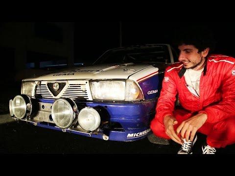 Alfa 75 Rothmans (Rally Conrero integrale) - Davide Cironi Drive Experience (ENG.SUBS)