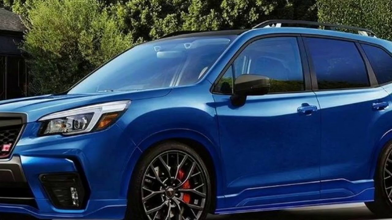 2019 Subaru Forester Sti Render Needs To Happen In Real Life Youtube