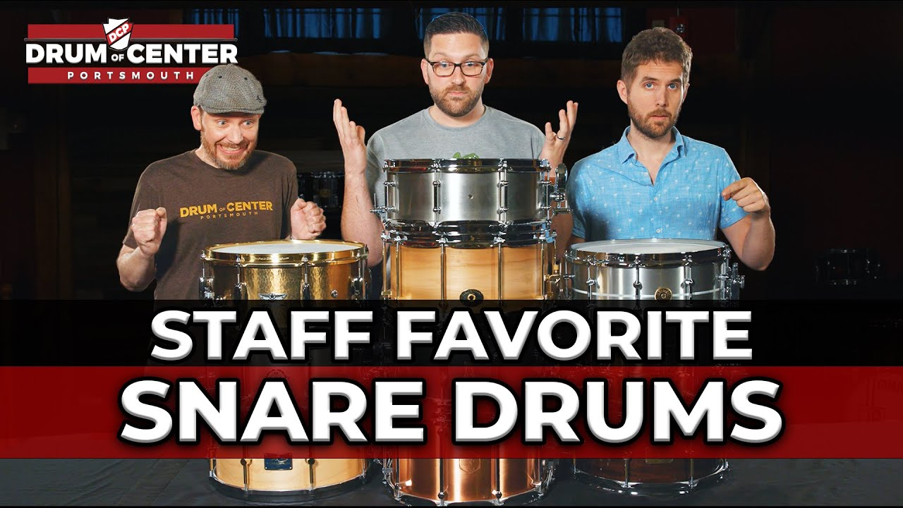 Download DCP Staff Favorite Snare Drums!