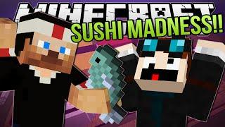 Minecraft | SUSHI MADNESS!! | Sushi-Go-Round 1.8 Minigame