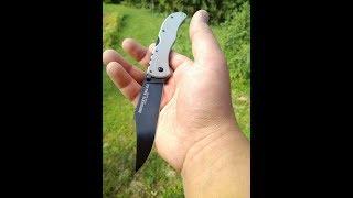 складной нож cold steel broken skull, мнение о ноже, разборка, выводы