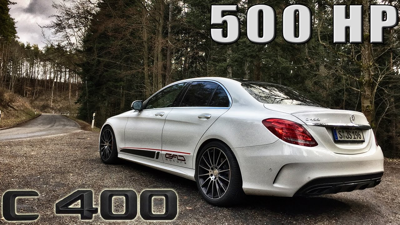 Mercedes benz c class c400 review 500 hp gad motors by for Mercedes benz of tysons corner staff