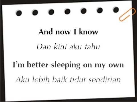 Lirik Lagu Justin Bieber-Love Yourself dan Terjemahan