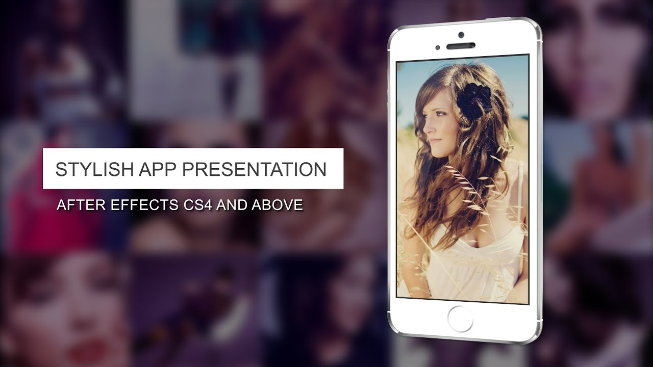 must see iphone app presentation video 2 - after effects template, Presentation templates