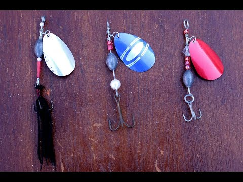Fishing Lures Homemade,DIY Mepps Lures/Make Fishing Lures
