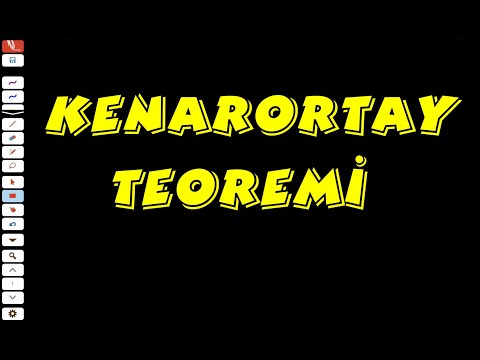 İSPAT: KENARORTAY TEOREMİ ( TYT GEOMETRİ / KENARORTAY )