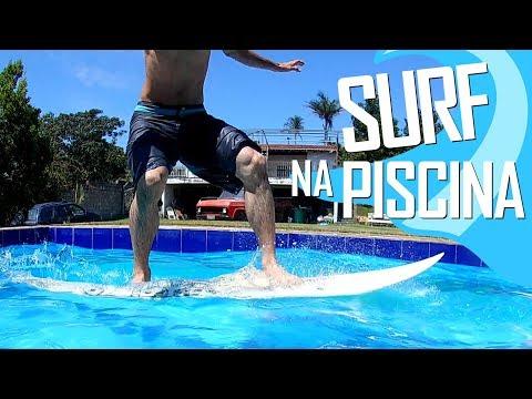 SURF NA PISCINA! LB SKATE