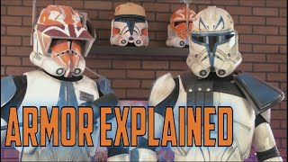 Captain Rex Clone Armor Suit Up and Explanation