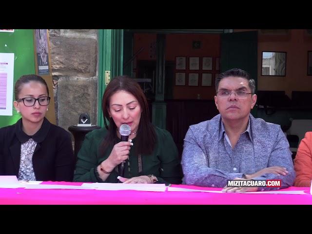 Presentan Actividades con Motivo del Día de la Eliminación de la Violencia Contra la Mujer