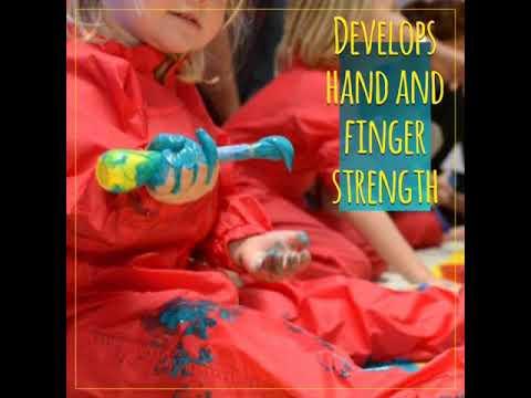 How do creative activities help your child's development?