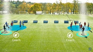 Small Sided Soccer Games | Competitive Double Rondo