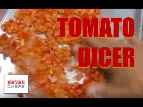 Slicing And Dicing Tomatoes In A Food Processor