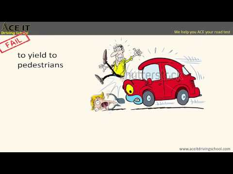 How To Avoid An Automatic Fail In Your Road Test