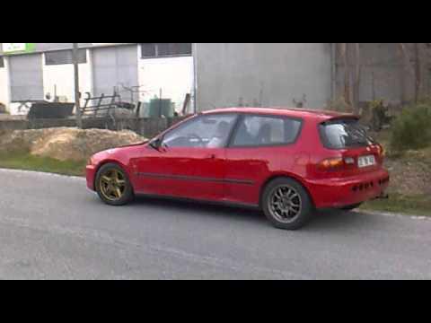 Honda civic EK4 K20 Swap