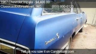 1967 Chevrolet Impala Wagon for sale in Nationwide, NC 27603 #VNclassics