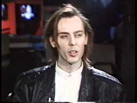 Peter Murphy - Interview Toronto 1987