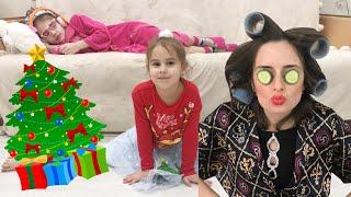 НЯНЯ для Алины и Юляшки СОСЕДКА в шоке Сборник новогодние истории Алинка и друзья