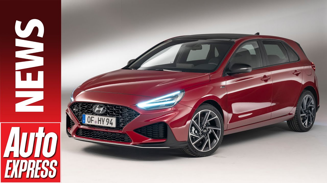new 2020 hyundai i30 facelift refreshed hatchback takes on focus and golf youtube