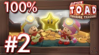 Captain Toad - Treasure Tracker Switch: 100% Walkthrough Part 2 - Episode 2