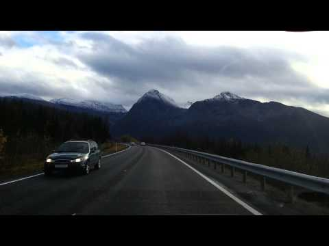 Drive to Narvik, Norway 2013