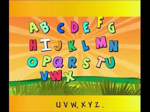 ABCD Alphabet Song with Lyrics   Nursery Rhymes for Kids