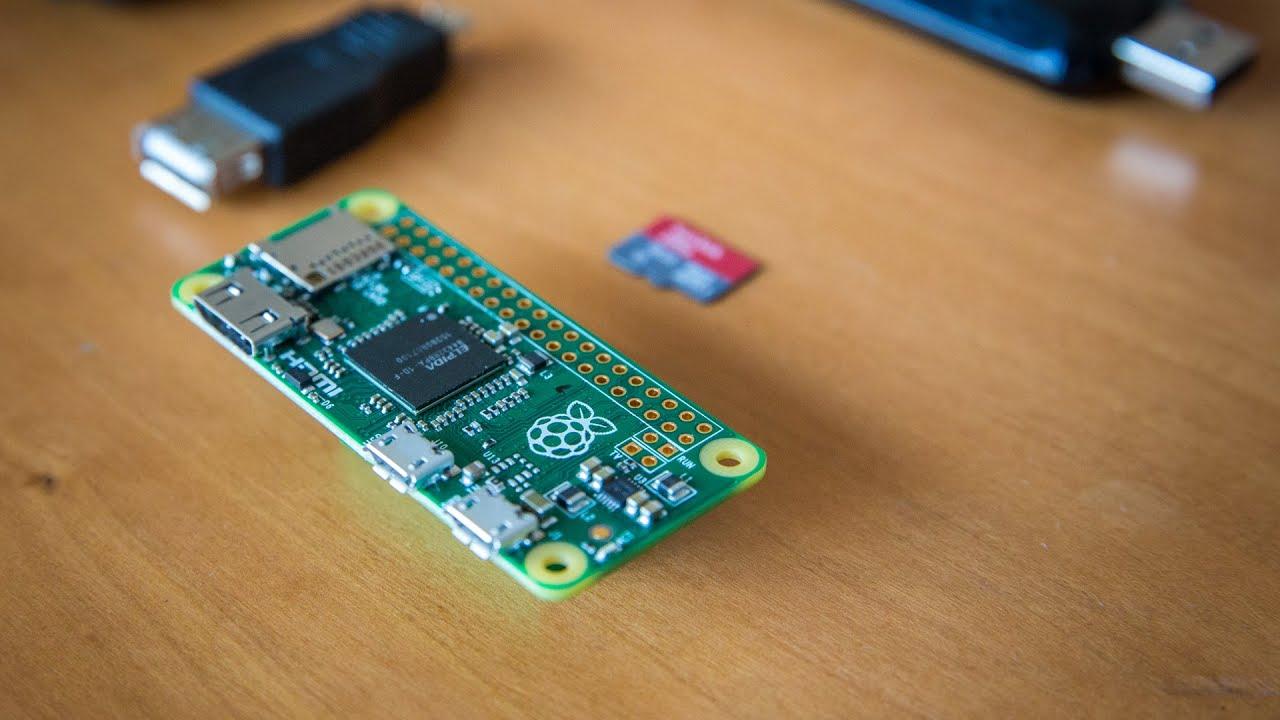 Tested The 5 Raspberry Pi Zero Computer Youtube Circuit Board