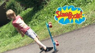 Как научиться кататься на скейтборде Penny. Мне 7 лет и я легко катаюсь на Пенни Борд! Первые трюки