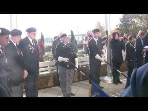 Armistice Day in Harlow Nov 11th 2016