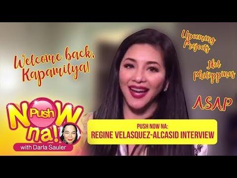 Push Now Na: Regine Velasquez, excited na sa mga gagawing proyekto sa ABS-CBN