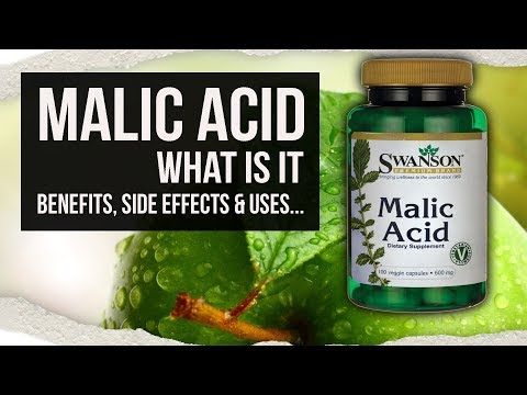 MALIC ACID   What is it ?   Benefits, Side Effects & Uses