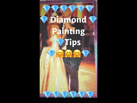 💎 Diamond Painting Tips