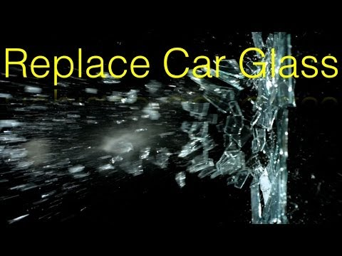DIY How To Replace a Broken Side Door Glass Yourself - 97 Toyota Camry