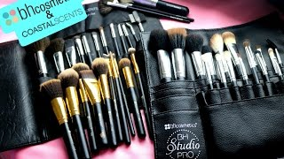 affordable makeup brushes bh cosmetics coastal scents review