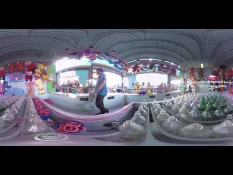 360 Video of Pacific Park on the Santa Monica Pier