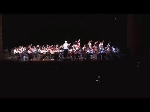 Santa Plays the Viola-Collins Intermediate School Honor Orchestra December 14, 2015