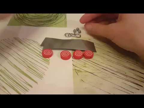 Светоотражатели своими руками - Бликер на сумку (пример для конкурса)