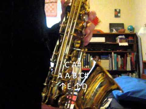 Saxdude26 Plays: Main Theme of The Legend of Zelda - on Alto Sax (with Tutorial)