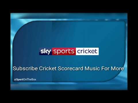 Sky Sports ( England  ) 2018 Scorecard Music .
