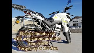HPT Motorcycle with DA100S ASPP Motor