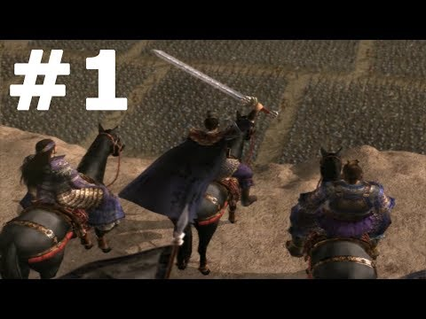 Dynasty Warriors 4: Wei - Part 1 Walkthrough No Commentary