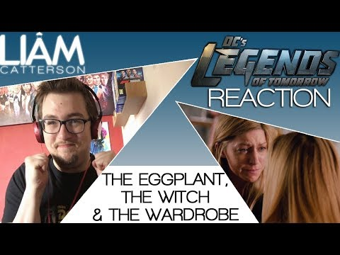 Legends of Tomorrow 4x12: The Eggplant, the Witch & the Wardrobe Reaction