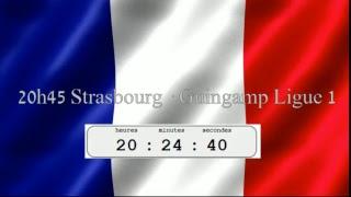 Strasbourg · Guingamp Ligue 1 20h30
