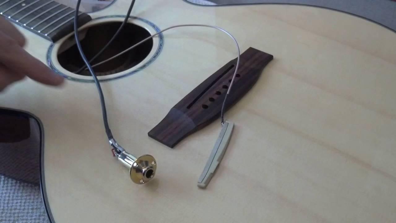 Passive Pickup Wiring Diagram Takamine Acoustic Guitar Piezo Repair Youtube