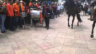 Caballos Bailando En La Plaza Fiestas Sn Agus 2013