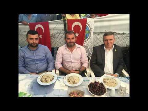 Kutluca köyü 2017 iftar ve Mevlid programı