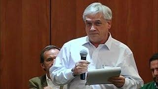 """Sebastián Piñera afirmó que """"el Gobierno está confundido y paralizado"""""""