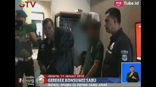 Bodoh!!! Sepasang Pasutri Pesta Sabu di Depan Anak Balita Mereka - BIS 11/01