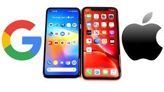 Google Pixel 4a vs iPhone XR