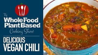Easy Plant Based Vegan Chili (WFPB)